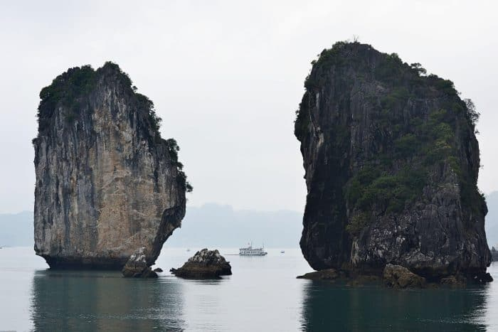 Halong Bay with toddler