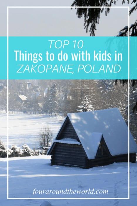10 Things to do with kids in Zakopane Poland