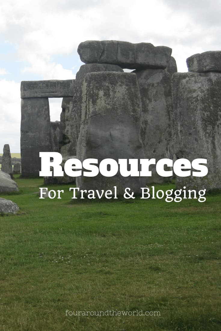 travel and blogging resources