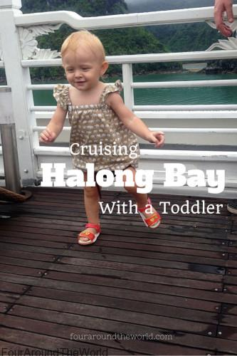 Cruising Halong Bay With a Toddler