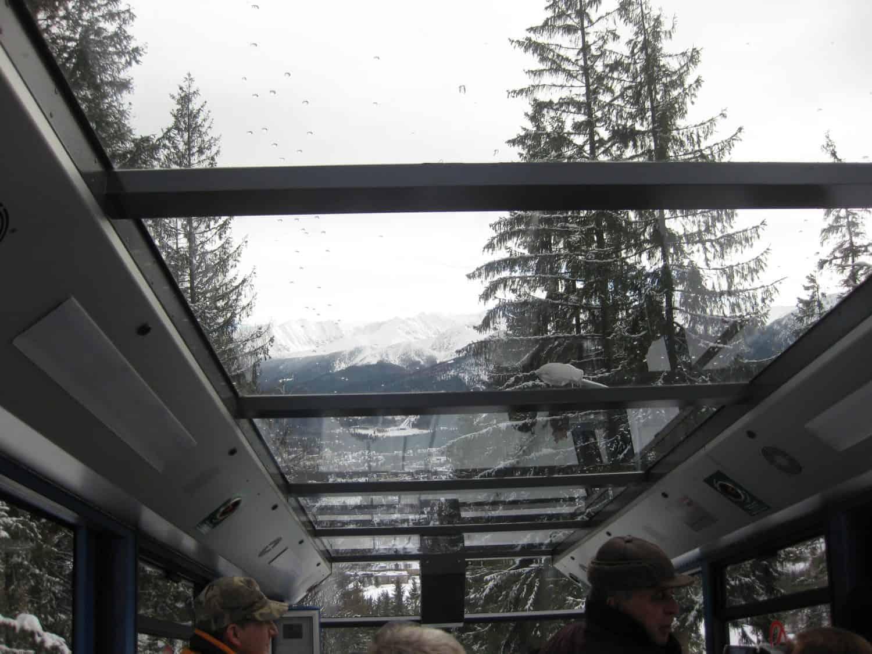Funicular in Zakopane with kids