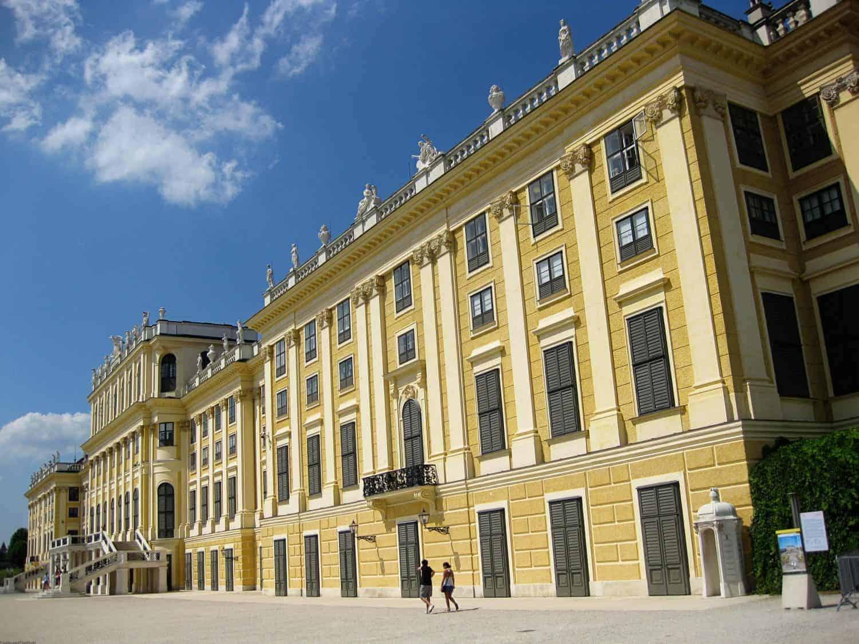 Visiting Schonbrunn Palace Vienna