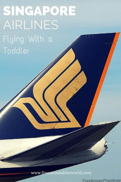 Singapore Airlines: Flying With A Toddler