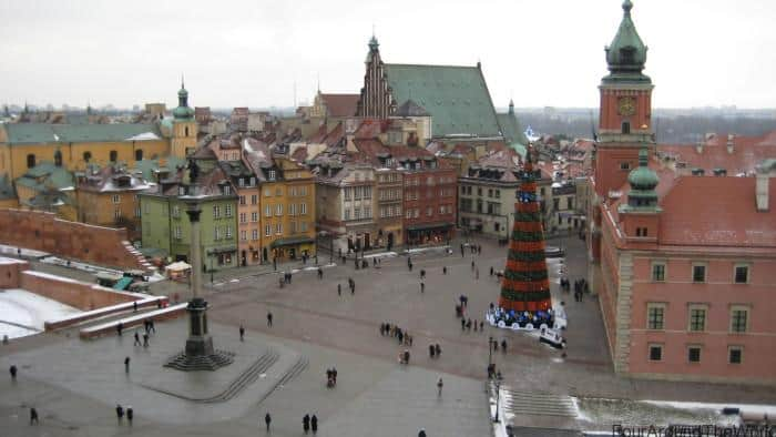 Warsaw Old Town Poland