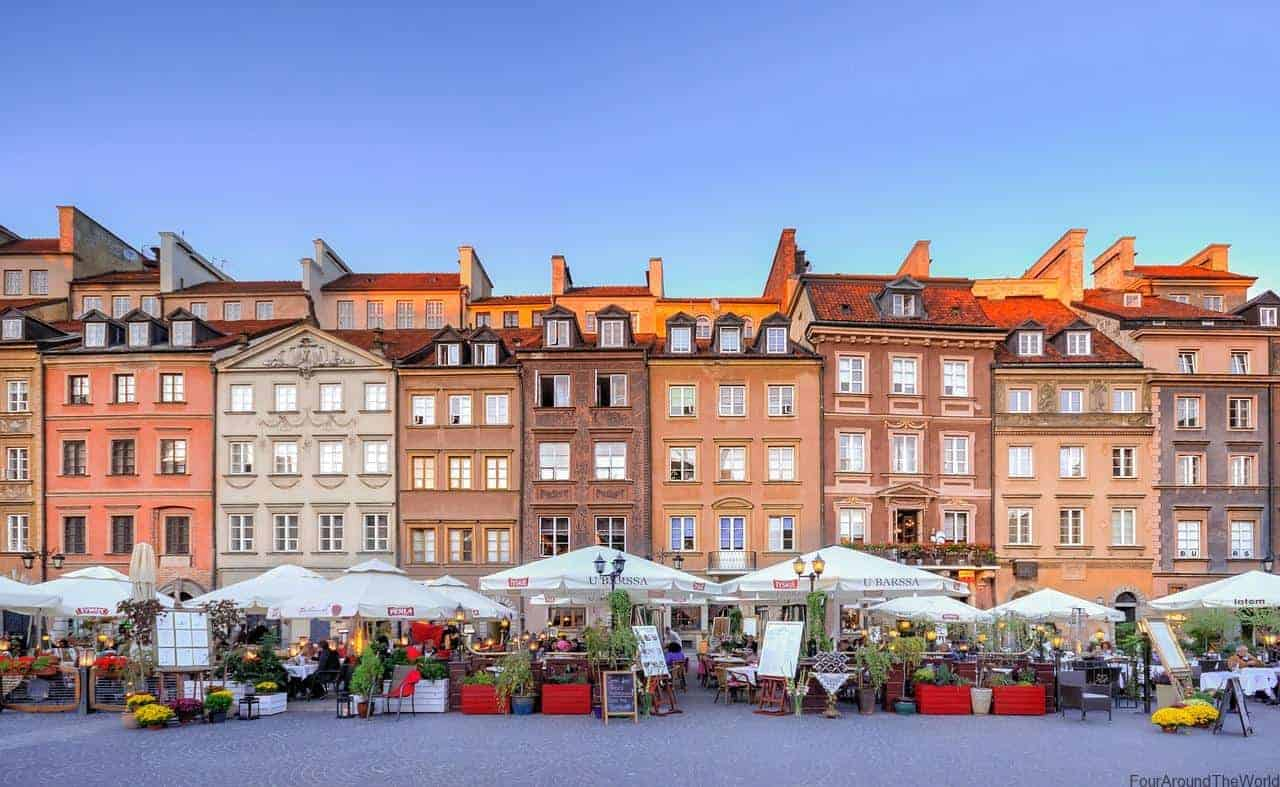 5 best places to visit in poland four around the world for Best places to go to vacation