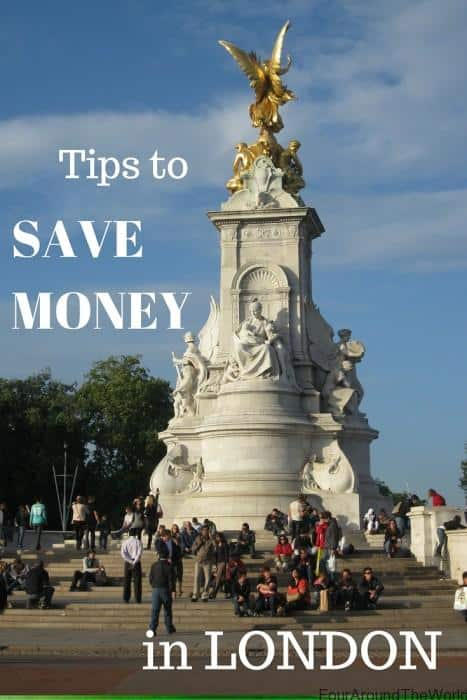 Save money in London