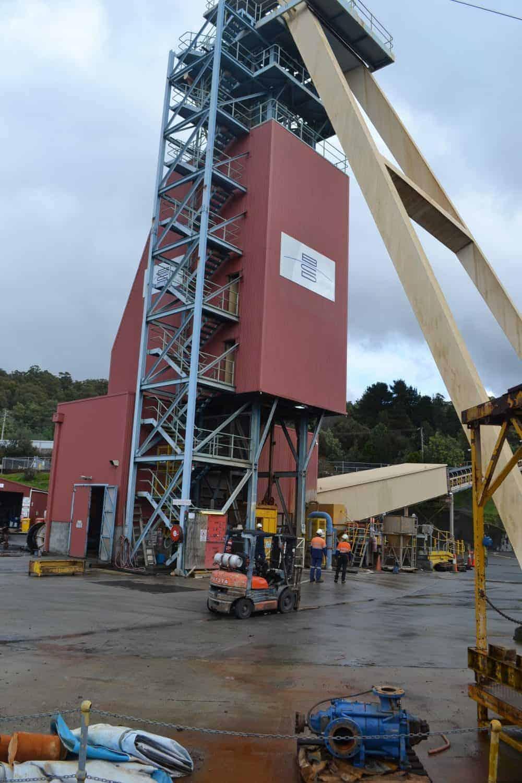 Beaconsfield mine Tasmania