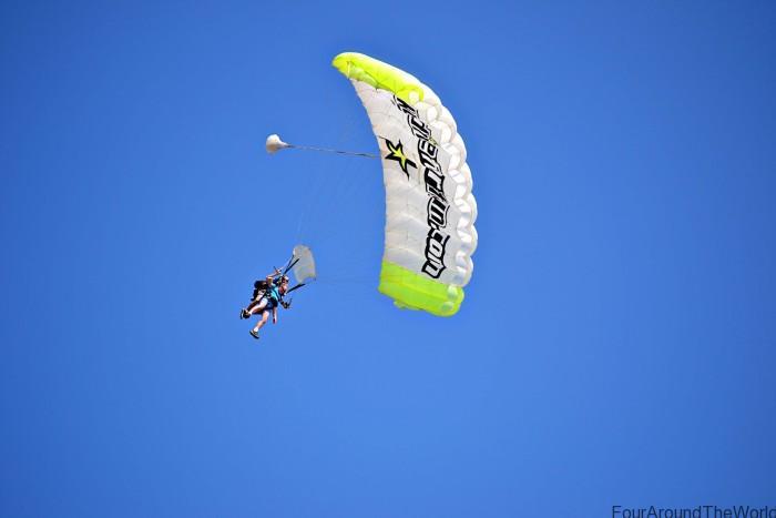 skydiving in coolum