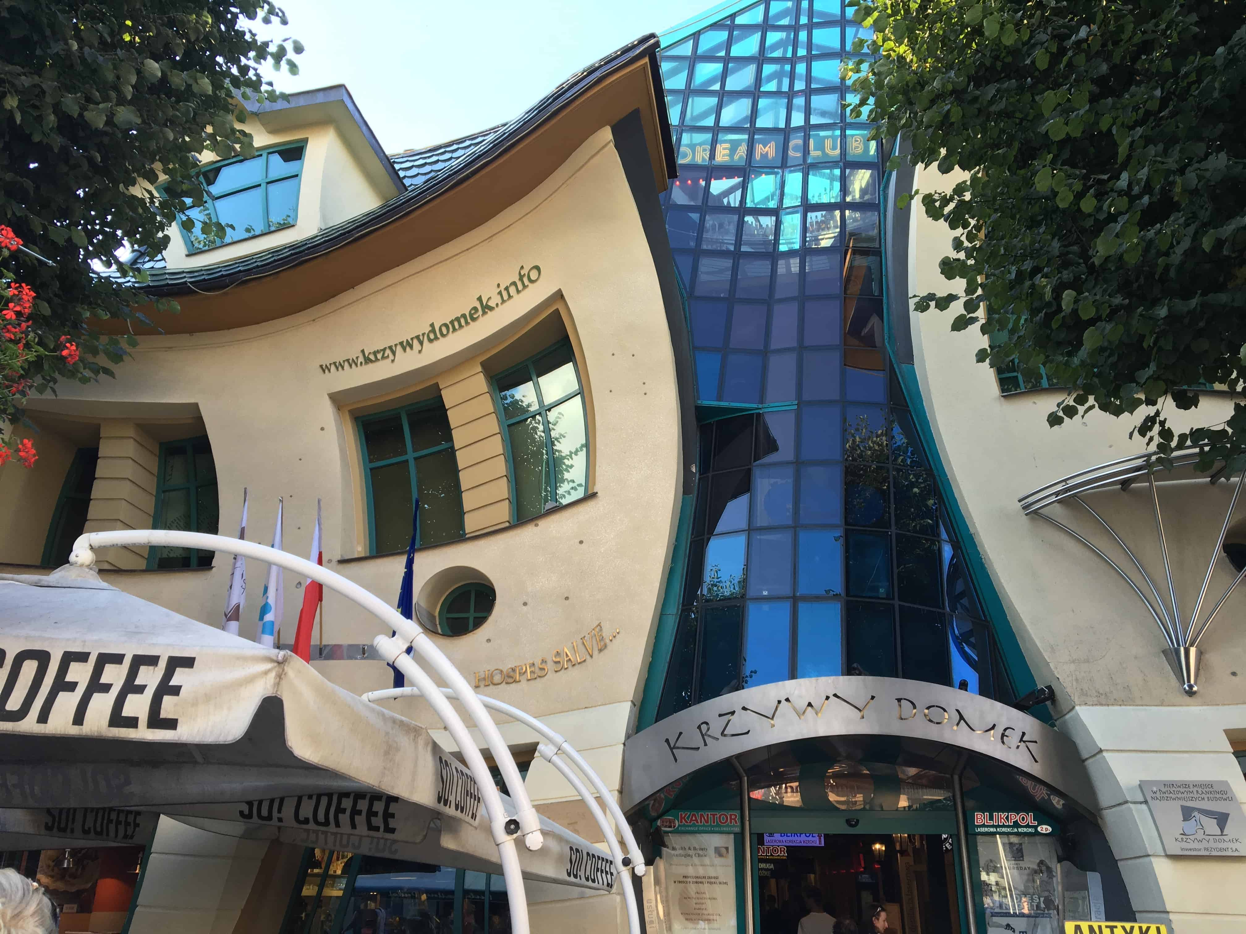 Must visit places in Poland - Sopot crooked house