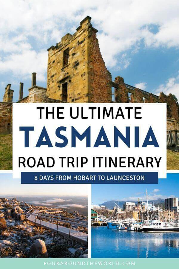 Tasmania Hobart to launceston Road Trip
