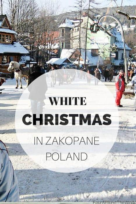 White Christmas in Zakopane, Poland
