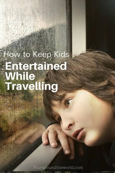How to keep kids during travel