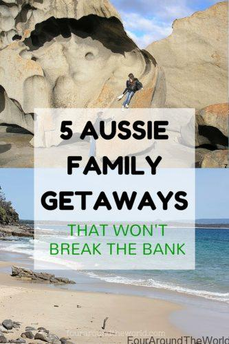 5 Aussie family getaways that won't break the bank