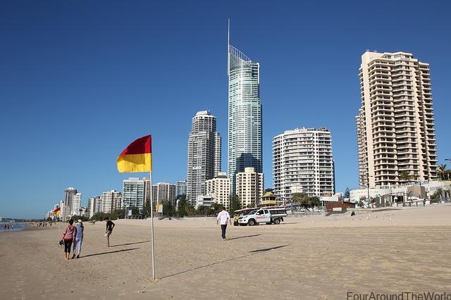 Gold coast Australia surfers paradise
