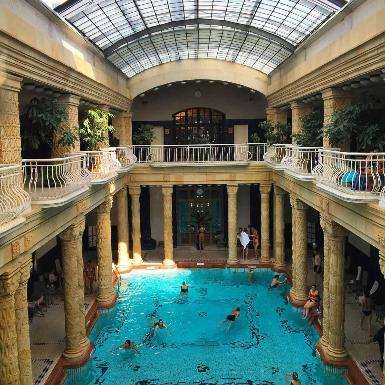 Banos Gellert.Visiting The Budapest Gellert Baths With Kids Four Around
