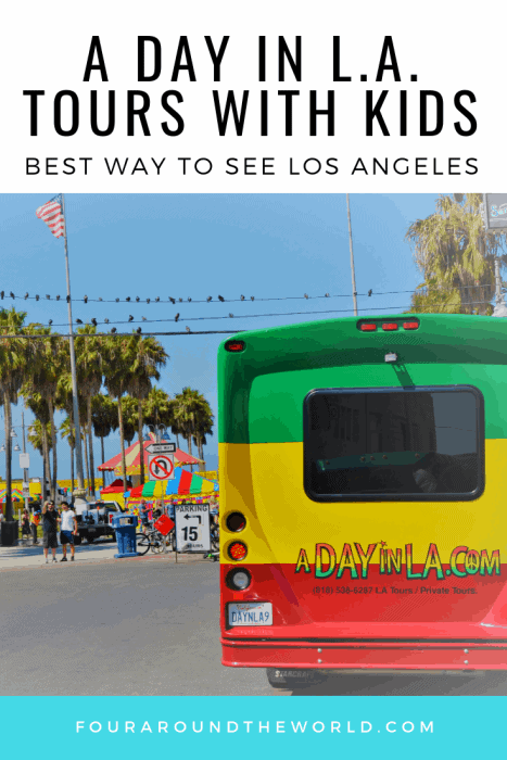 A day in LA Tours review with kids. Best Los Angeles one day tour. Top rated tour in RastaBus #usatravel #losangeles