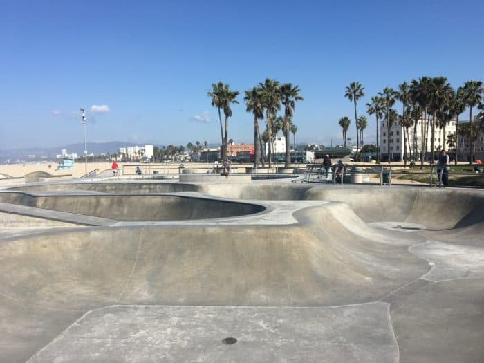 A Day in LA Tours review: Venice Beach Skate Park