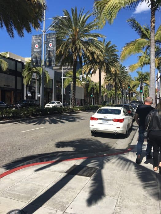 A Day in LA Tours review: Rodeo Drive beverly hills