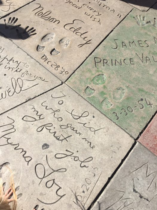 A Day in LA Tours review:  Hollywood Boulevard