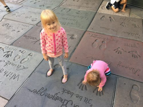 A Day in LA Tours review: Hollywood walk of fame