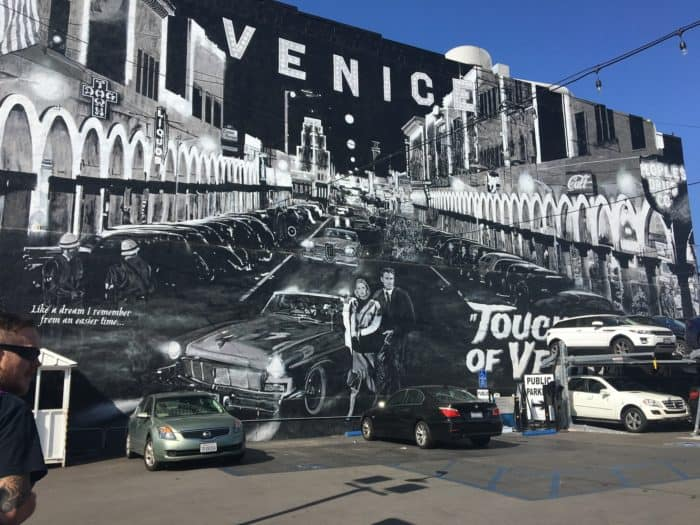 Venice Beach Mural A day in LA tours review