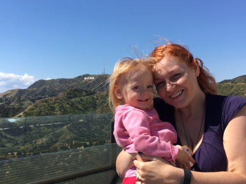 A Day in LA Tours review: Hollywood sign from Griffith Observatory