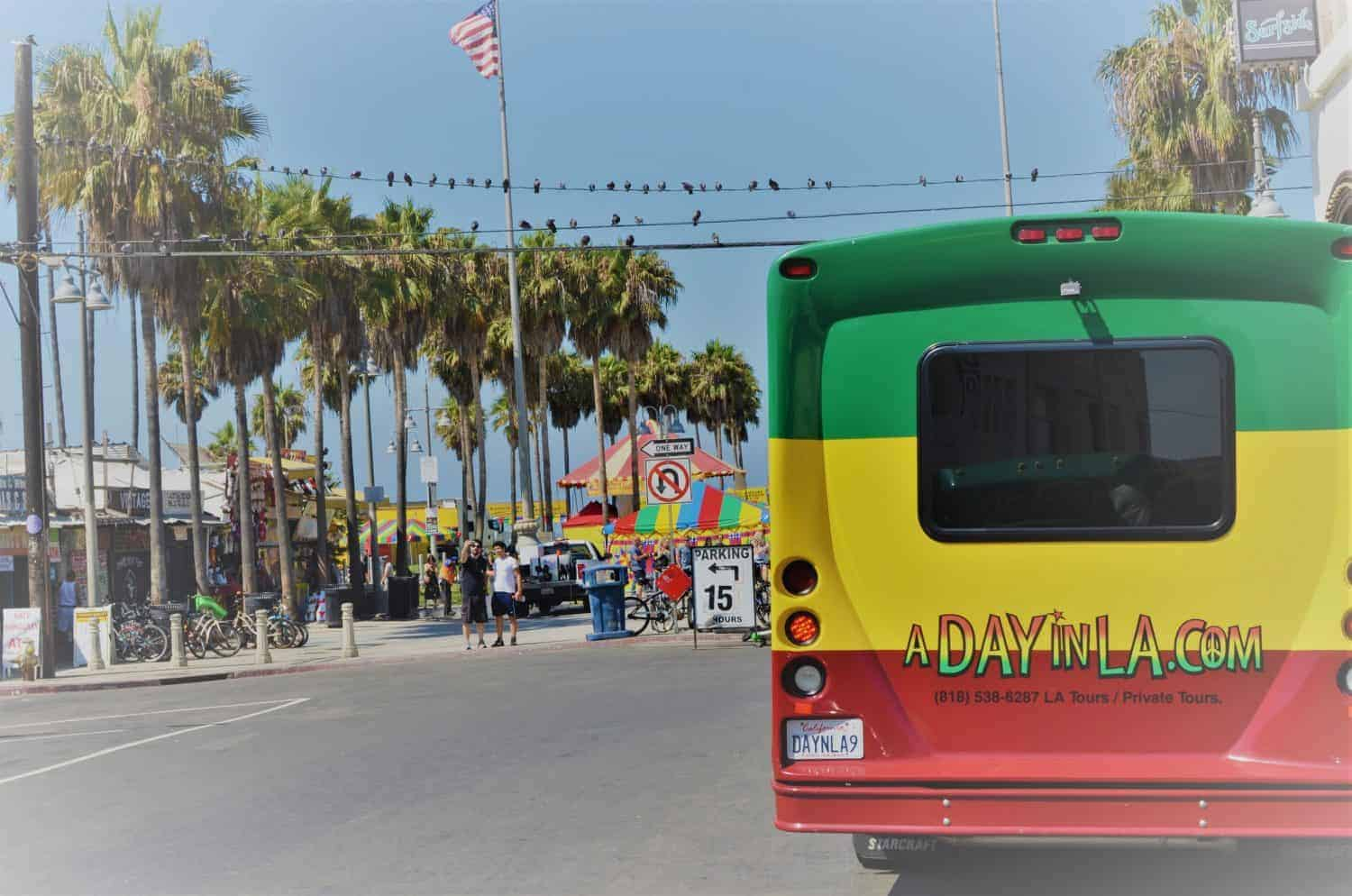 A Day in LA Tours review - RastaBus