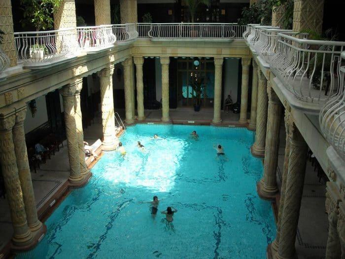 Visiting The Budapest Gellert Baths With Kids Four Around The World