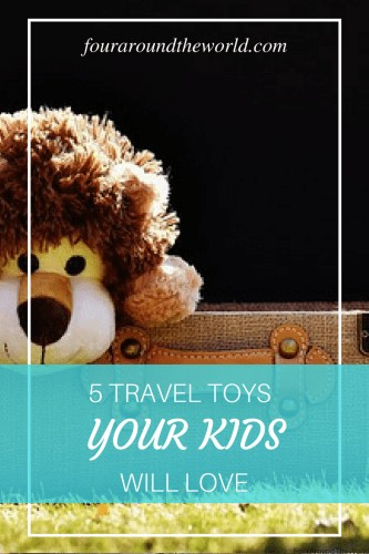 5 top travel toys your kids will love