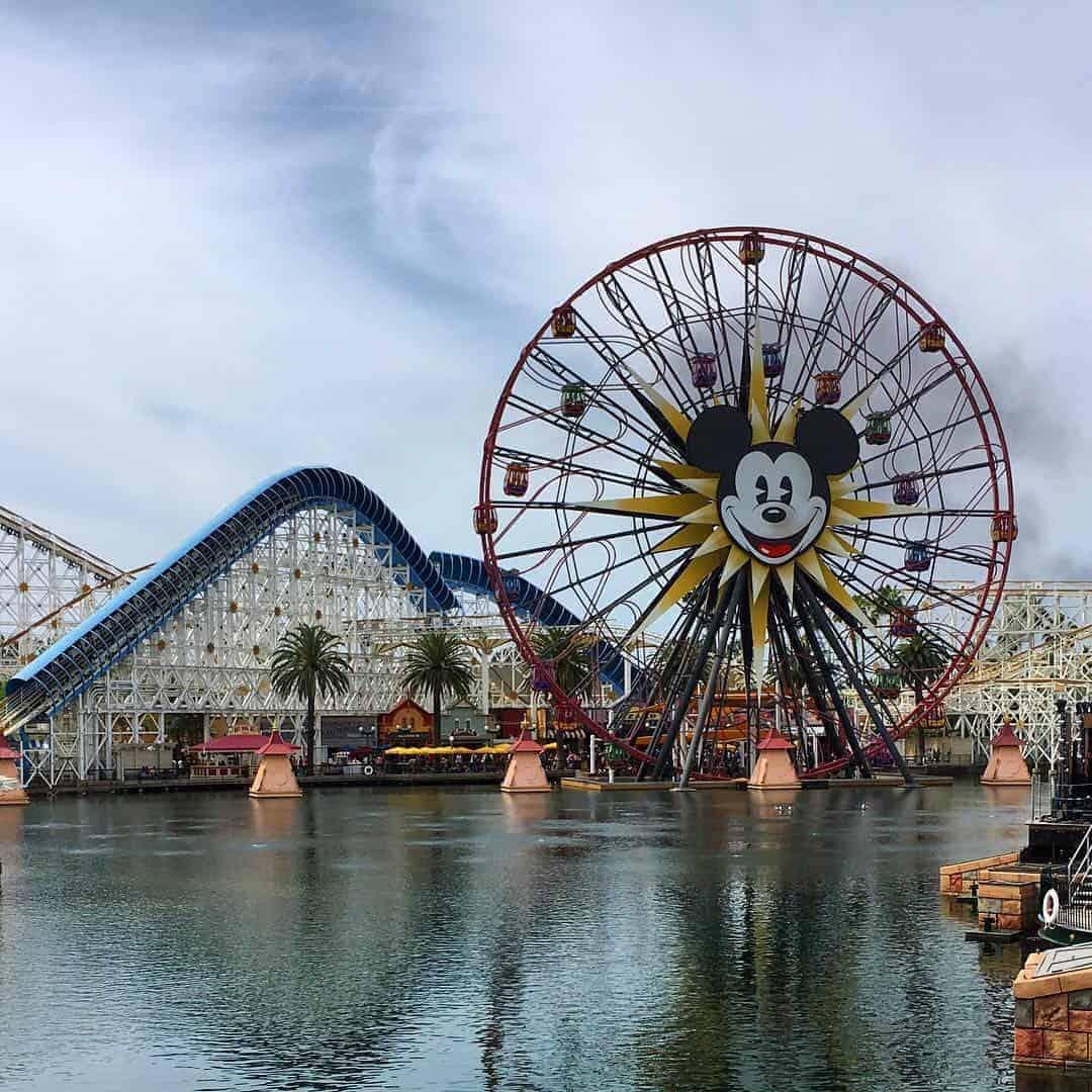 Disneyland and California adventure park Anaheim