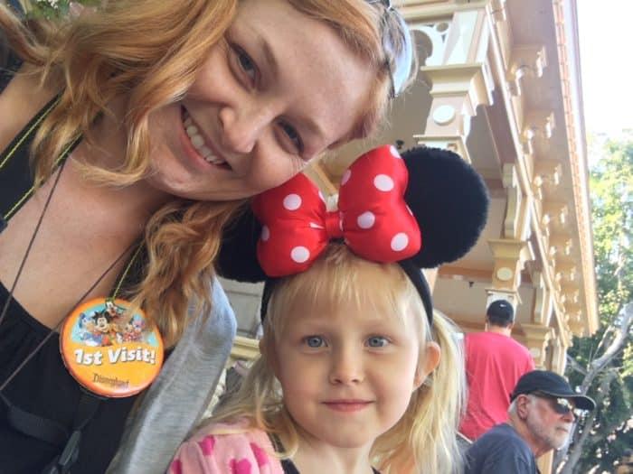 Disneyland first time