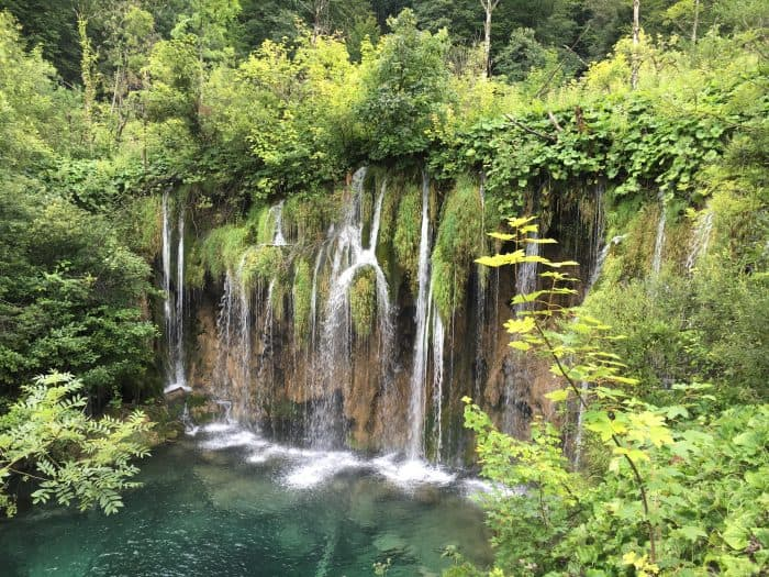Plitvice Lakes with kids