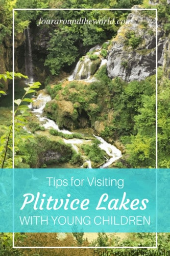 plitvice lakes with young chldren
