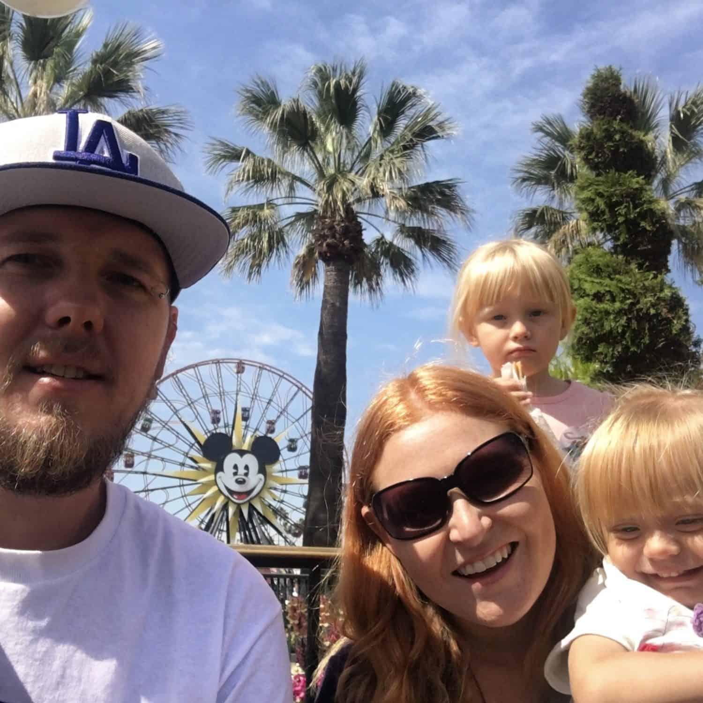 Disney California Adventure Park Ferris wheel