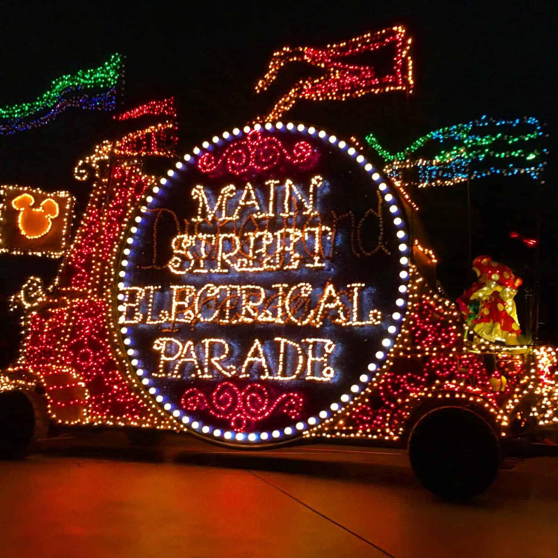 Disneyland California adventure park main street electrical parade