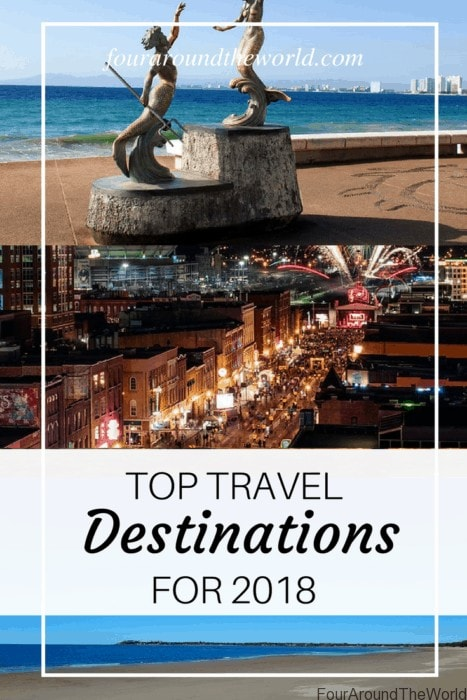 Top travel destinations for 2018