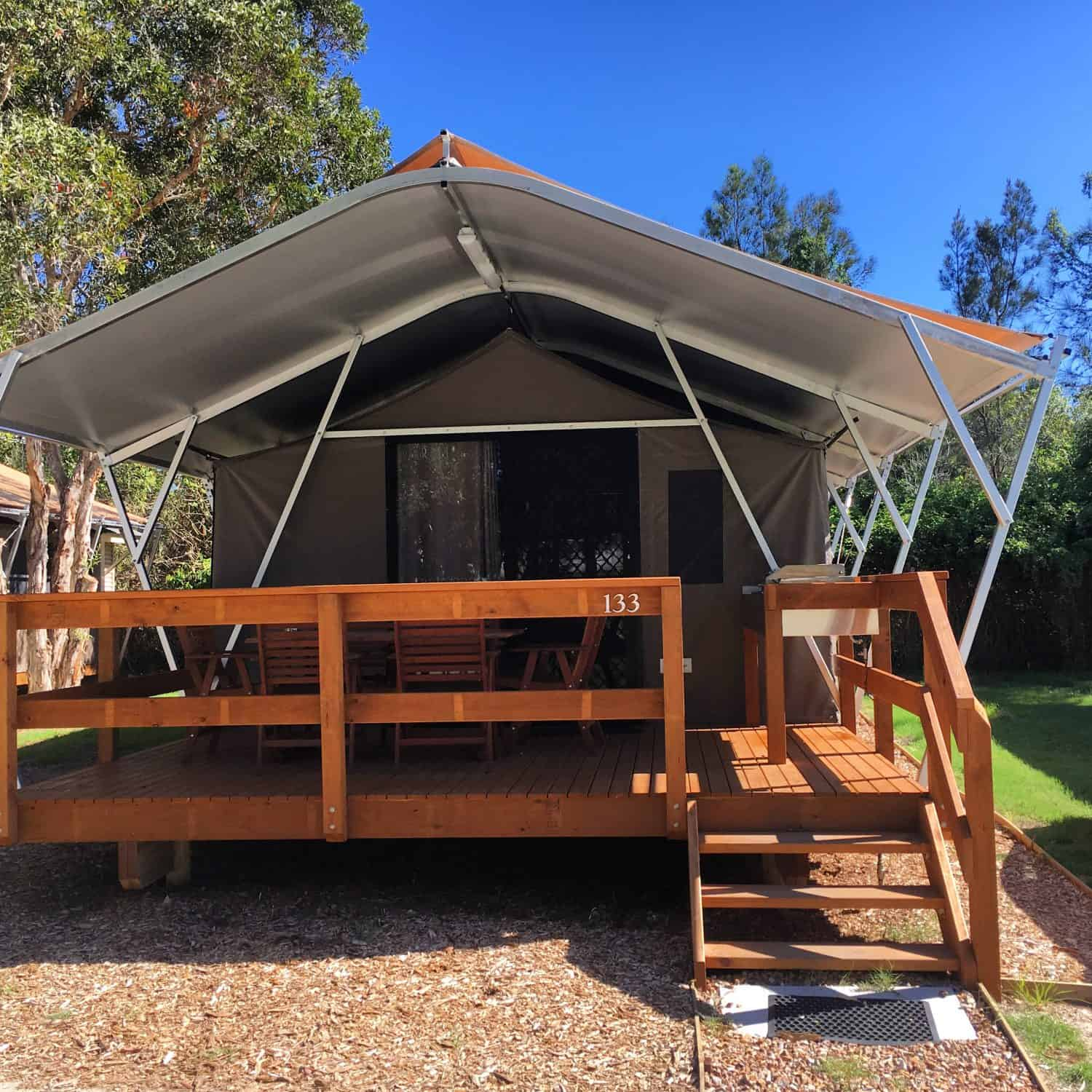 safari tent discovery parks