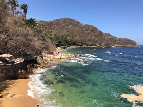Las Caletas Hidden beach