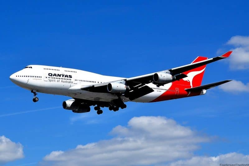 Qantas airlines family friendly travel