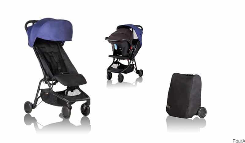 Best Travel Pram - Mountain Buggy Nano