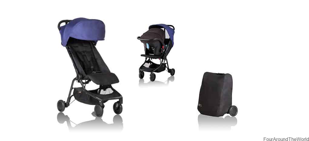 The Best Travel Pram Mountain Buggy Nano Review Four Around The