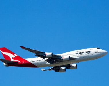 qantas airline review with kids