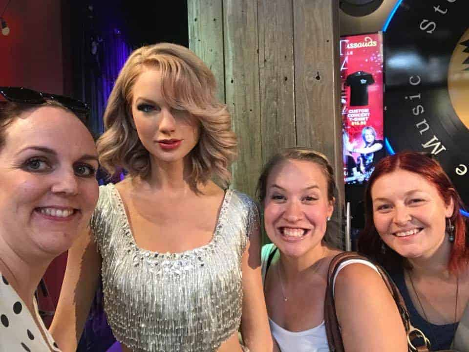 Wax museum Taylor Swift