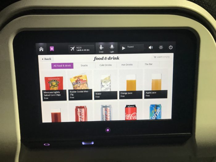 Air New Zealand review family friendly airline