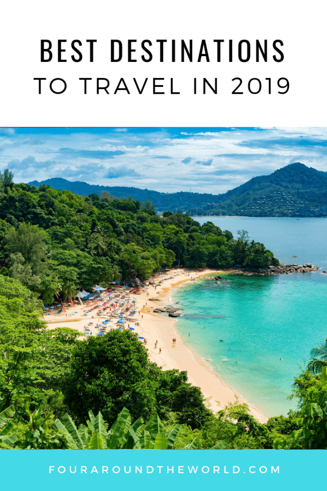 Our Best places to travel 2019
