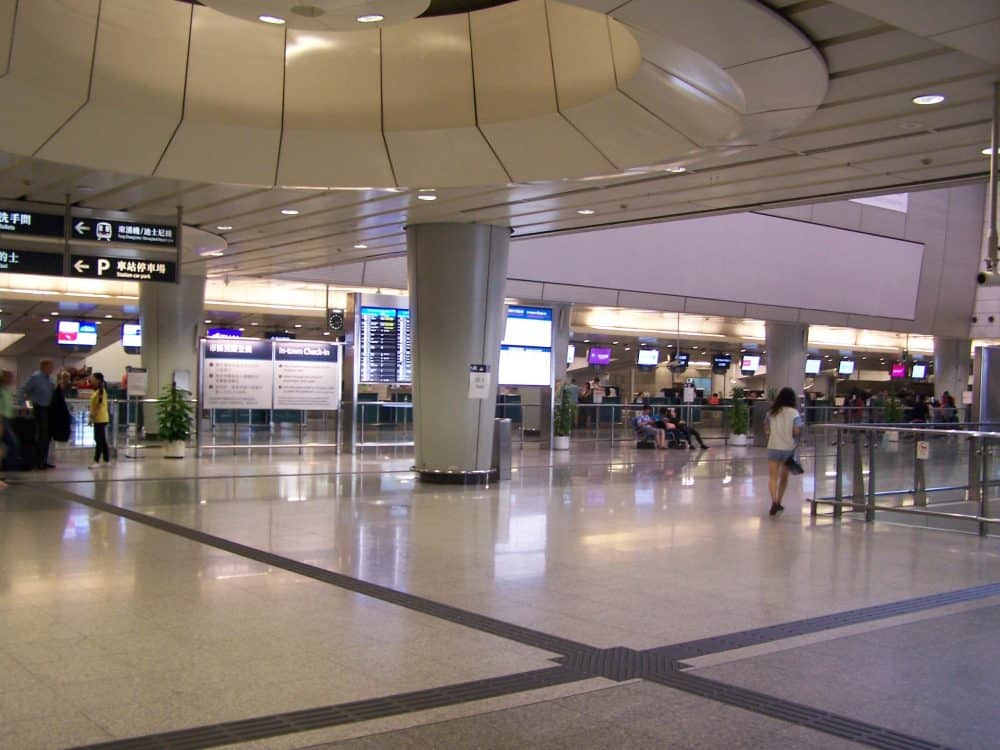 Best family friendly airports Hong Kong Airport