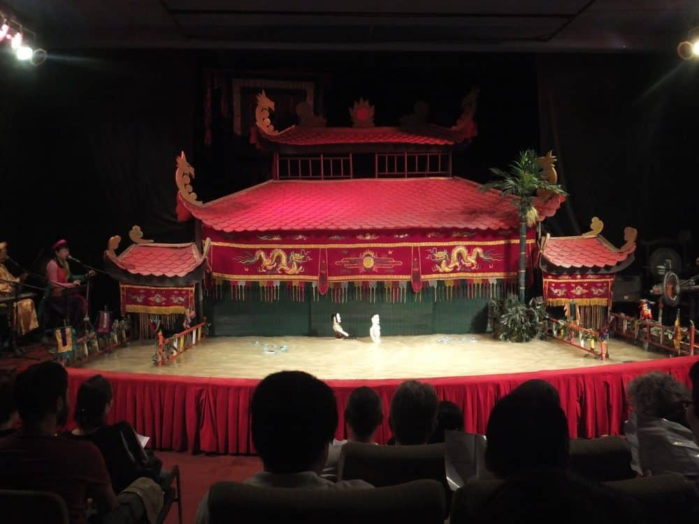The BEST Vietnam Attractions For Families water puppet show