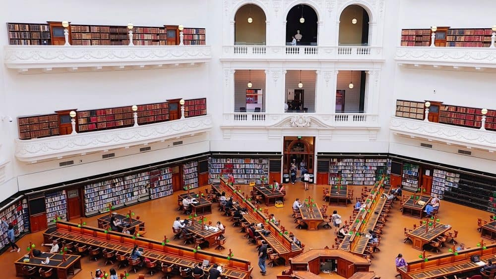 The best things to do in Melbourne with kids - State library of victoria