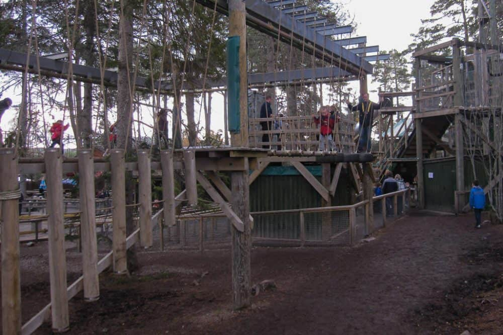Landmark Forest Adventure Park Family attractions Scotland