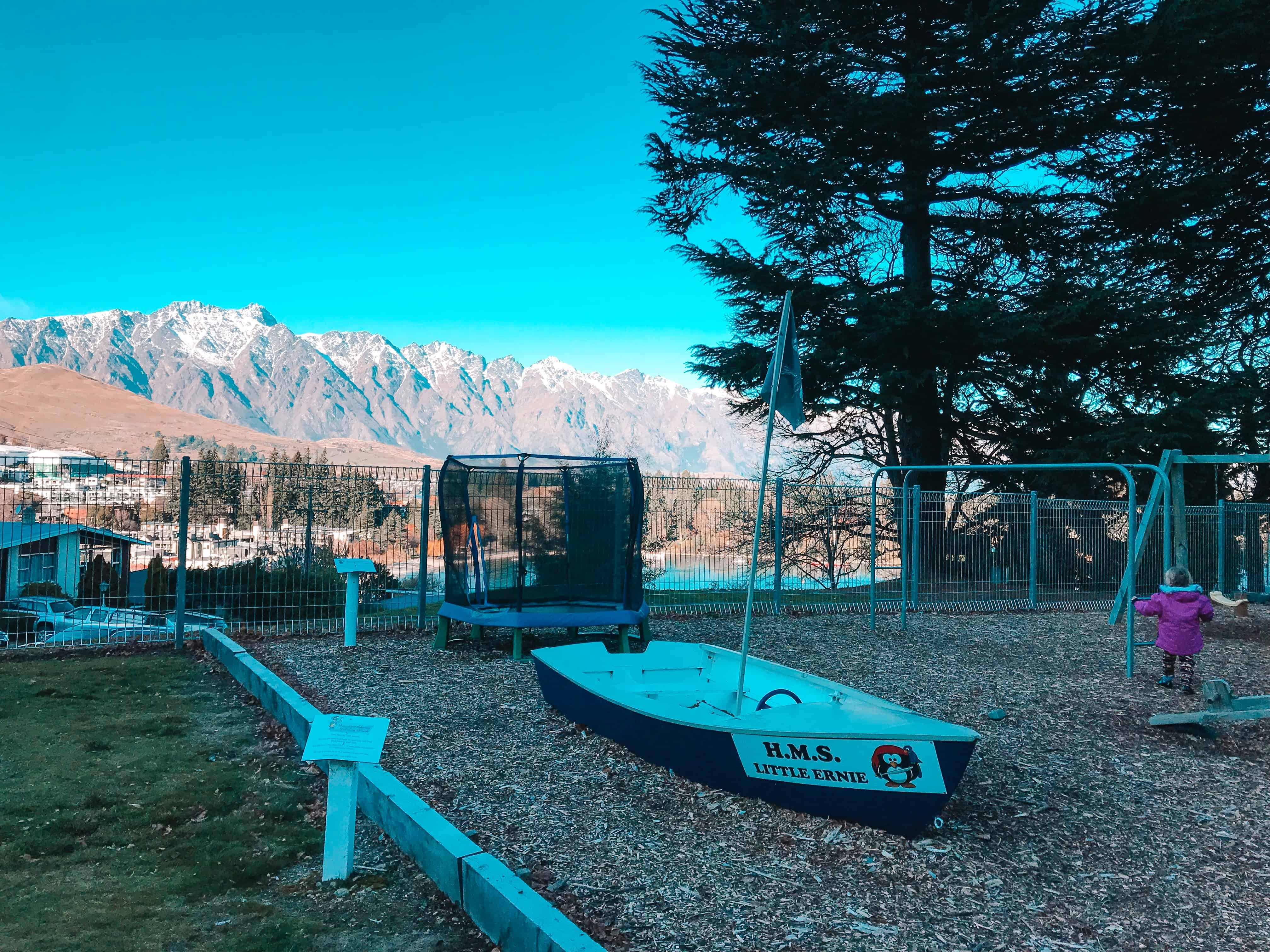 Lakeview Holiday Park Queenstown camp site